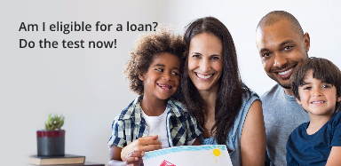 En-Am I eligible for a loan? Do the test now!